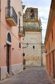 Alleyway. Ugento. Puglia. Italy. — Stock Photo