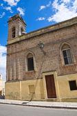 Sanctuary of SS. Cosma e Damiano. Ugento. Puglia. Italy. — Stock Photo