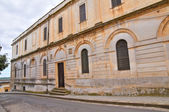 Seminary palace. Ugento. Puglia. Italy. — Stock Photo
