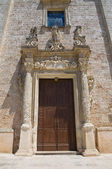 Church of St. Leucio. Felline. Puglia. Italy. — Stock Photo