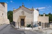 Church of Madonna del Curato. Ugento. Puglia. Italy. — Stock Photo