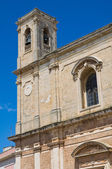 Mother church of Transfiguration. Taurisano. Puglia. Italy. — Foto de Stock