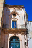 Historical palace. Alessano. Puglia. Italy. — Stock Photo