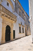 Balsamo palace. Specchia. Puglia. Italy. — Stock Photo
