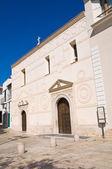 Iglesia de san antonio. pisticci. basilicata. italia. — Foto de Stock