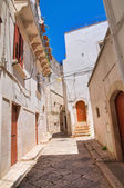 Alleyway. Putignano. Puglia. Italy. — Stock Photo