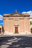 Church of Sacro Cuore. Manduria. Puglia. Italy. — Stock Photo