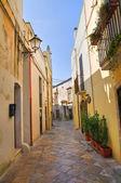 Beco. Mesagne. Puglia. Itália. — Fotografia Stock