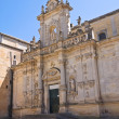 Cathedral of Lecce. Puglia. Italy. — Stock Photo