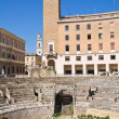 Stock Photo: Amphitheatre. Lecce. Puglia. Italy.