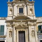 Church of St. Maria della Grazia. Lecce. Puglia. Italy. — Stock Photo #38416583