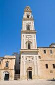 Belltower duomo kilisesi. lecce. puglia. i̇talya. — Stok fotoğraf