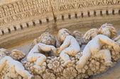 Church of St. Angelo. Lecce. Puglia. Italy. — Stock Photo