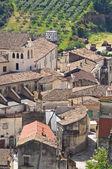 панорамный вид турси. базиликата. италия. — Стоковое фото