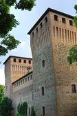 Castle of Castelguelfo. Noceto. Emilia-Romagna. Italy. — Stock Photo