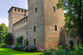Castle of Castelguelfo. Noceto. Emilia-Romagna. Italy. — Stock Photo