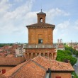 Stock Photo: Este Castle. Ferrara. Emilia-Romagna. Italy.