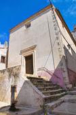 Historical church. Ischitella. Puglia. Italy. — Stock Photo