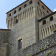 Castle of Torrechiara. Emilia-Romagna. Italy. — Stock Photo