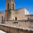 Church of Francescani Neri. Specchia. Puglia. Italy. — Stock Photo