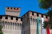 Castle of Montechiarugolo. Emilia-Romagna. Italy. — Stock Photo