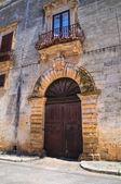 Pisanelli palace. Specchia. Puglia. Italy. — Stock Photo