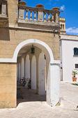 Ripa palace. Specchia. Puglia. Italy. — Foto de Stock