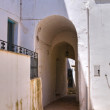 Stock Photo: Alleyway. Specchia. Puglia. Italy.