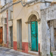 Stock Photo: Alleyway. Tricase. Puglia. Italy.