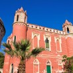 Villa Mellacqua. Santa Maria di Leuca. Puglia. Italy. — Stock Photo #39664555
