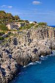 Ciolo bridge. Santa Maria di Leuca. Puglia. Italy. — Stock Photo