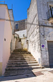 Alleyway. Specchia. Puglia. Italy. — Stock Photo