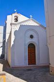 Church of Madonna del Picchione. Pisticci. Basilicata. Italy. — Stock Photo