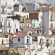 Stock Photo: Panoramic view of Pisticci. Basilicata. Italy.