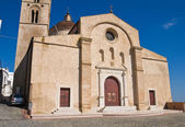 Mother Church of Pisticci. Basilicata. Italy. — Stock Photo