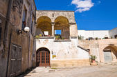 Palace of Commanders. Maruggio. Puglia. Italy. — Stock Photo