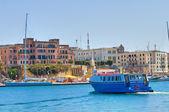 Panoramic view of Brindisi. Puglia. Italy. — Stock Photo