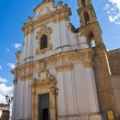 Mother Church of St. Andrea. Presicce. Puglia. Italy. — Stock Photo #39918727
