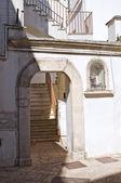 Alleyway. Noci. Puglia. Italy. — Stock Photo