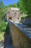Fortilizio dei Molini. Spoleto. Umbria. Italy. — Stock Photo