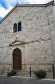 Aziz francesco kilisesi. montefalco. umbria. i̇talya. — Stok fotoğraf