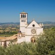 Basilica of St. Francesco d'Assisi. Umbria. Italy. — Stock Photo