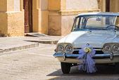 Auto d'epoca. — Foto Stock
