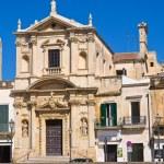 Church of St. Maria della Grazia. Lecce. Puglia. Italy. — Stock Photo #40603001