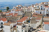 Panoramic view of Pisticci. Basilicata. Italy. — Stock Photo