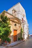 Church of St. Vito. Monopoli. Puglia. Italy. — 图库照片