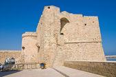 Carlo V Castle. Monopoli. Puglia. Italy. — Stok fotoğraf
