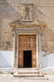 Church of St. Salvatore. Monopoli. Puglia. Italy. — Stock Photo