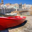 Panoramic view of Monopoli. Puglia. Italy. — Stock Photo