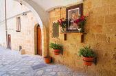 Uličky. Monopoli. Puglia. Itálie. — Stock fotografie